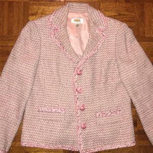 Pink Talbots Blazer